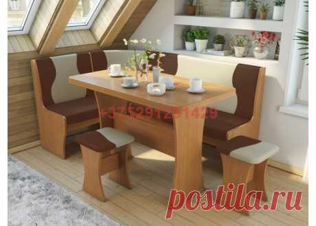 Кухонный уголок Титул-2 (ольха горская/брауни, латте): купить в Минске недорого, низкие цены, скидки, рассрочка