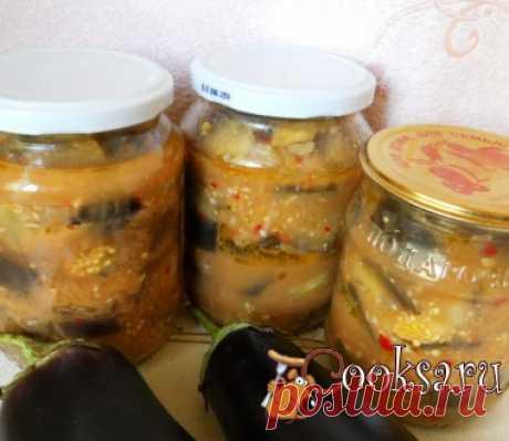 Баклажаны в остром чесночном соусе фото рецепт приготовления