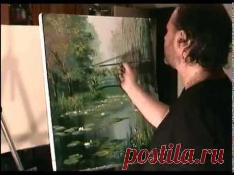 Виде Сахарова Игоря! Живопись для начинающих - YouTube