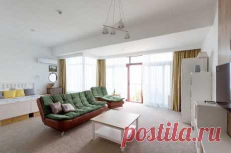 !!!Апартаменты с видом на море в Крыму Вилла Фуджи Алушта. 60м.кв. 8000-10000 в июле-августе.