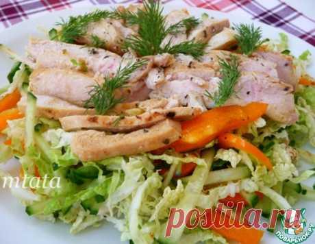 Салат легкий – кулинарный рецепт