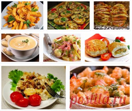 8 рецептов блюд из картофеля