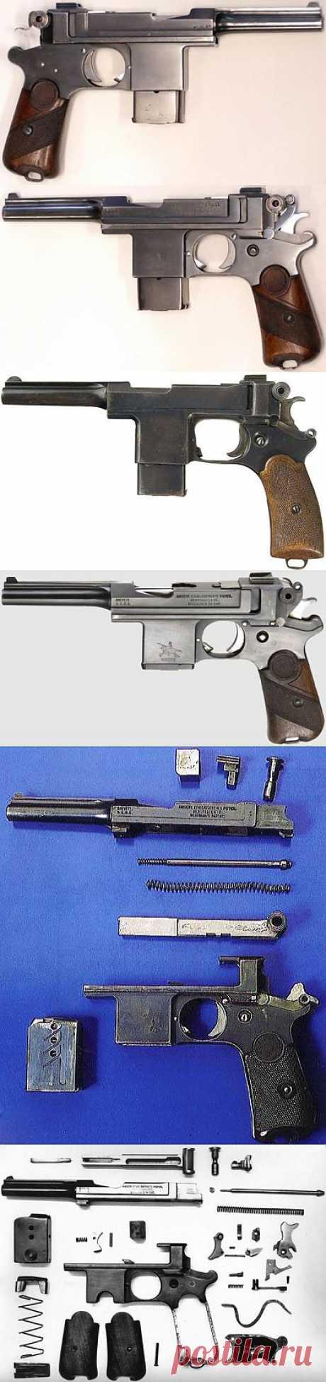 (+1) тема - Пистолет Bergmann Bayard / M 1908 / M 1910 | Энциклопедия оружия