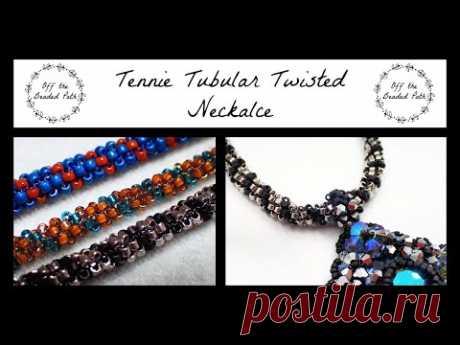 Teenie Tubular Twisted Necklace