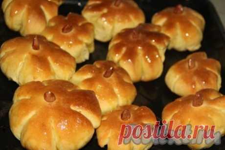 Рецепт булочек с тыквой - рецепт с фото