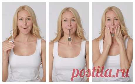 Не хуже ботокса: упражнения для лица, которые сделают вас моложе и красивее