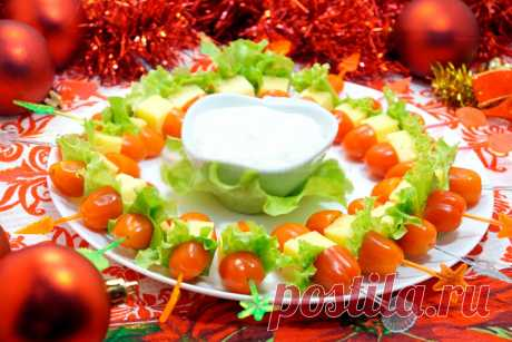 Закуски на Новый 2018 год: новогодние рецепты