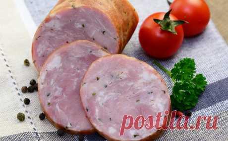 Настоящая краковская колбаса по польскому рецепту. Готовим на водяной бане