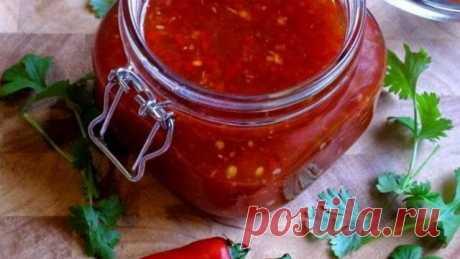 Аджика из помидоров и перца на зиму - пошаговый рецепт
