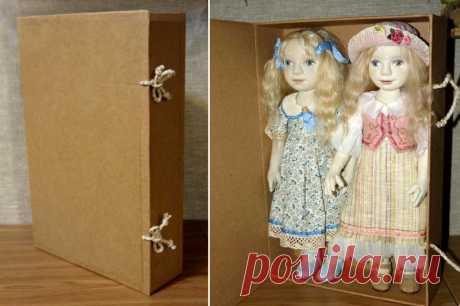 Коробка для куклы в эко-стиле | all Dolls