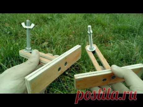 Гениальная идея из обрезков фанеры! - YouTube