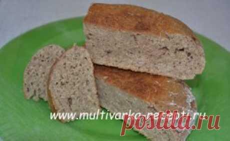 Хлеб на сыворотке в мультиварке без дрожжей