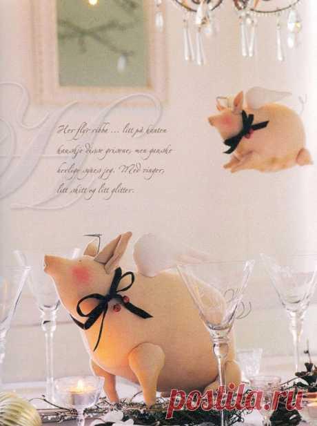 Выкройка свинки своими руками, тильда свинка, Пеппа, мастер-классы