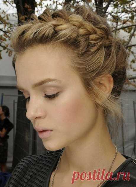 Необычные косы (DIY) / Прически / Модный сайт о стильной переделке одежды и интерьера