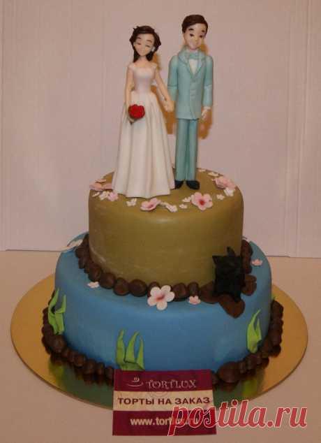 Свадебный торт.Вес 5 кг.