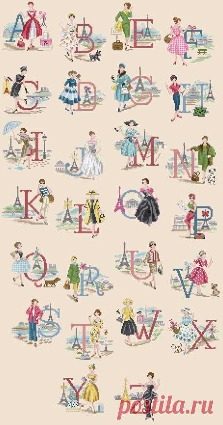 """Un jour f Paris. ABC """"Les parisennes"""" 1390×2644"""