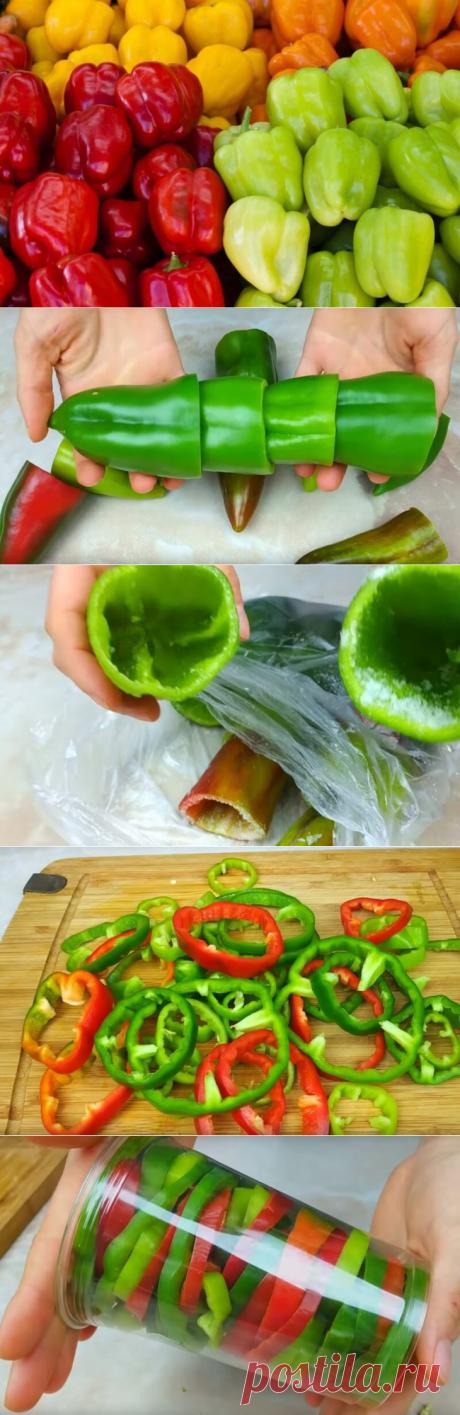 Подборка способов заготовки болгарского перца на зиму — Бабушкины секреты