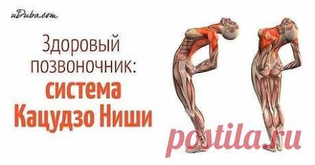 Эти упражнения улучшают кровоснабжение мозга, выпрямляют позвоночник,  освобождает сосуды от зажимов Здоровый позвоночник - основа хорошего  самочувствия. Нарушение осанки, искривление позвоночника нарушают  циркуляцию крови, а значит к клеткам перестает поступать полноценное  питание и достаточное количество кислорода.             Кацудзо Ниши, известный благодаря системе «Золотые правила  здоровья», разработал короткий и простой комплекс, включающий 4  упражнения для позвоночника, позволяющий