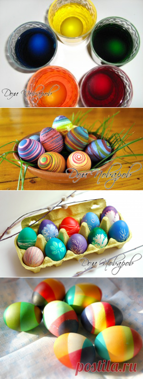 We paint and decorate eggs by Easter - 15 ways to paint eggs for Easter