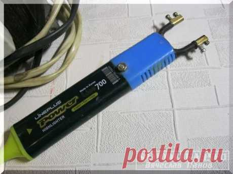 Самодельные электровыжигатели с источниками тока и клеймами-штампами