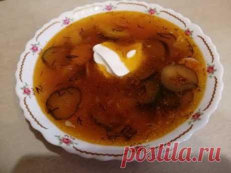 Обалденно вкусная солянка (суп) с тушенкой. Рецепт приготовления очень вкусной солянки