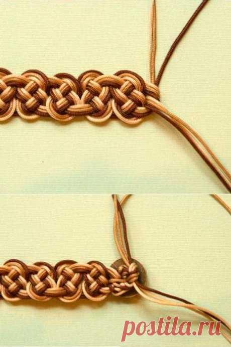 Браслет в технике кельтского узла: мастер-класс — Сделай сам, идеи для творчества - DIY Ideas