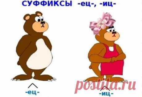 Суффиксы -иц-, -ец-. Что важно помнить, чтобы не ошибиться в написании   Мария Ивановна   Яндекс Дзен
