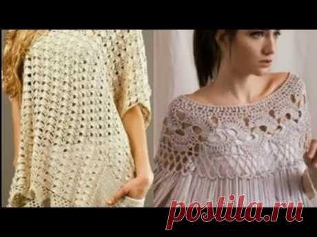 Подборка моделей для вдохновения вязания крючком - A selection of models for crochet inspiration