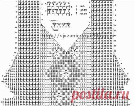 Большая подборка узоров для вязания летних топов (Вязание крючком) – Журнал Вдохновение Рукодельницы