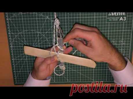 Кастинговая сеть: вяжем сетевое полотно   Cast net: make net mesh