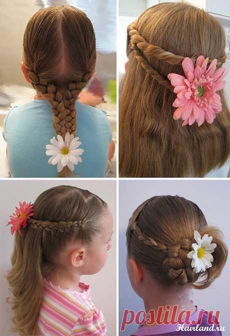 Детские причёски на каждый день в школу - ЖУРНАЛ СО ВКУСОМ