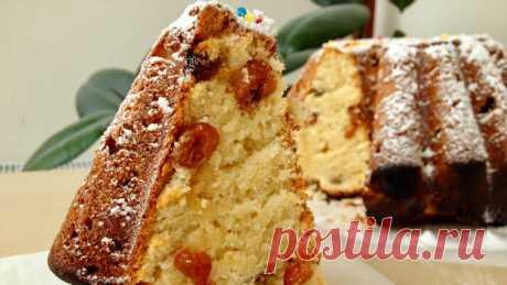 Очень вкусный творожный кекс. Этот рецепт стал любимым в нашей семье