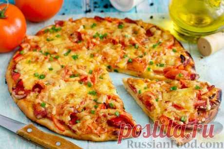 Пицца - 30 лучших рецептов приготовления