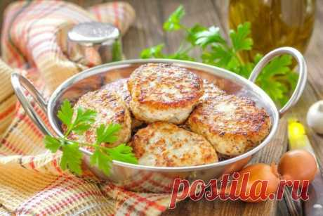 The most delicate cutlets from fish with rice