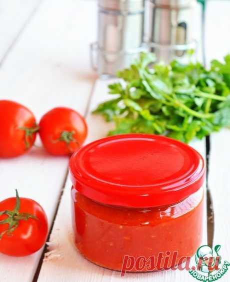 Соус из печеных томатов - кулинарный рецепт