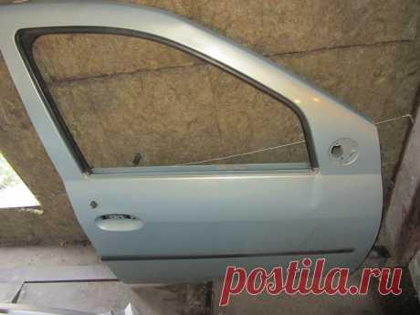 Как снять и установить переднюю дверь на рено логан - Ремонт Авто