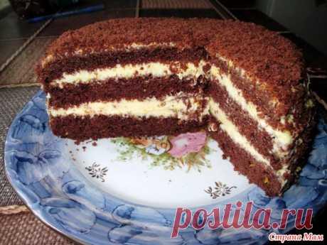 """Новый эксперимент! Обалденный торт """"Шоколадно-лимонный восторг""""! Сладкоежки, налетай! - Страна Мам"""