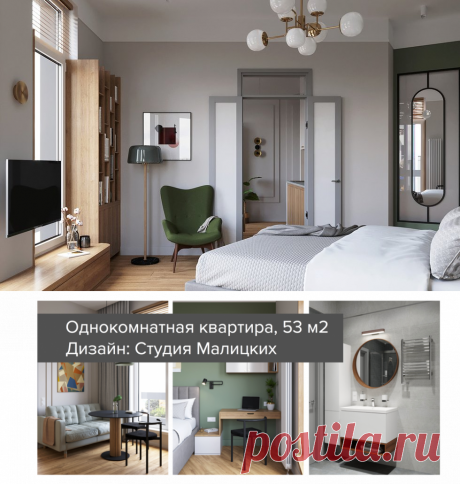 Проект недели: однокомнатная квартира, в которой удобно — INMYROOM