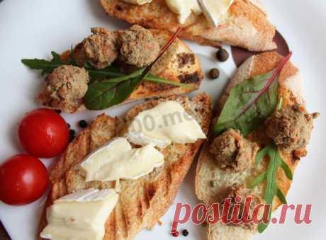 Паштет печеночный рецепт с фото пошагово - 1000.menu