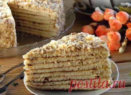 Как приготовить быстрый торт на сковороде со сгущенкой  - рецепт, ингредиенты и фотографии