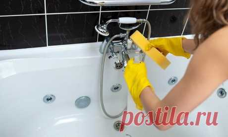 Очищаем ванну от желтизны и известкового налёта С годами даже самая дорогая ванна может приобрести нежелательный серый или желтоватый оттенок. Чтобы избавиться от него и придать сантехнике новый вид, следует выбрать правильную стратегию очистки. Дл...