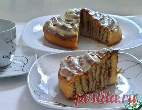 Пирог-улитка с корицей – кулинарный рецепт