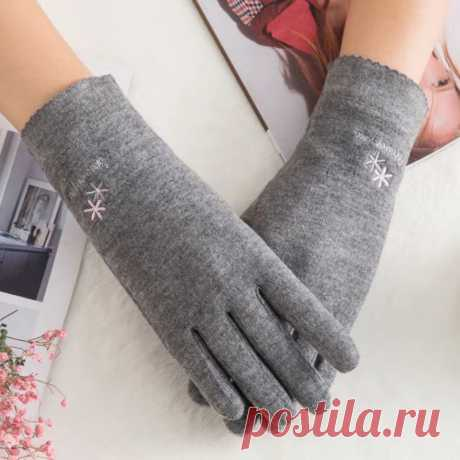 Женские Теплые Шерстяные Перчатки для фитнеса, вязаные кашемировые перчатки с плюшевой подкладкой для занятий спортом и занятий спортом на осень и зиму, C70   Женские перчатки  
