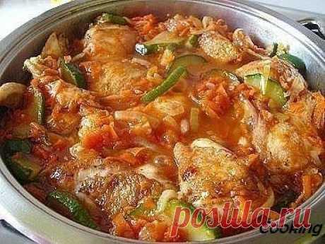 La gallina perfumada con los calabacines. Es muy sabroso. | Cooking | Yandeks Dzen