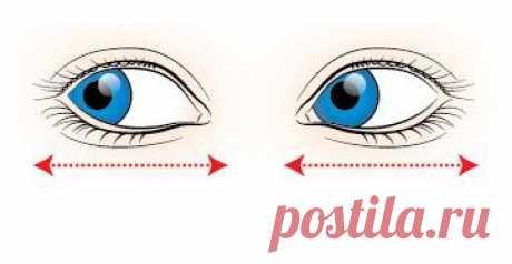 Зарядка для глаз: простые упражнения для отличного зрения
