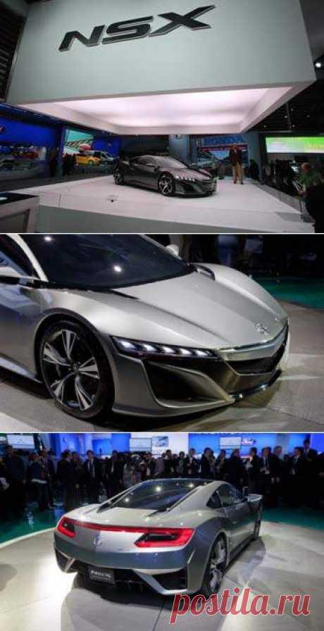 Honda Acura NSX. Цена, технические характеристики. Acura NSX Concept