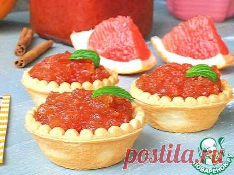Грейпфрутовое варенье с корицей - кулинарный рецепт
