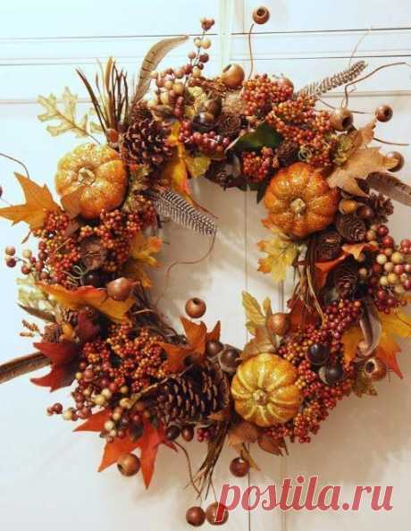 Осенние веночки...