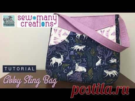 Tutorial! Everyday Bag with LOADS of Pockets - Abby Sling Bag Pattern by Sew Many Creations