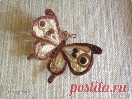 МК Филигранной бабочки   Страна Мастеров